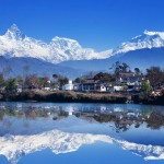Source: http://humanandnatural.com/img-machapuchare-mountain-and-fewa-lake-pokhara,annapurna-himalaya,-nepal-2551.htm